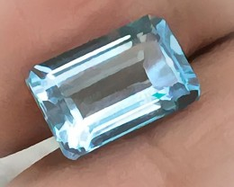 6.04ct Jewellery Grade Sky Blue Topaz No Reserve