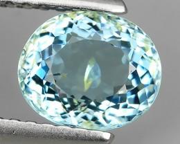 1.20 cts - Sparkling Luster -  Oval Gem - Natural Fine Aquamarine - NR!!!