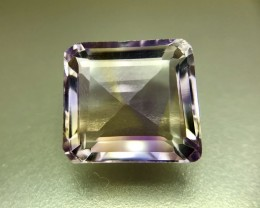 8.0 Crt Natural Ametrine Faceted Gemstone (R 132)