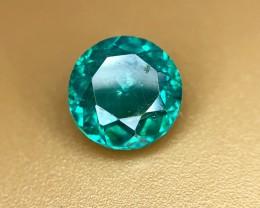 1.55 Crt Natural Green Topaz Faceted Gemstone (R 132)