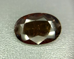 4.10 Crt Natural Rare Axinite Faceted Gemstone