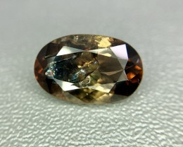 3.95 Crt Natural Rare Axinite Faceted Gemstone