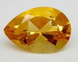 2.85Crt Madeira Citrine  Best Grade Gemstones JI 201