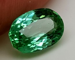 4.30Crt Green Spodumene  Best Grade Gemstones JI 201
