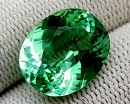 11.15 CT GREEN SPODUMENE TOP QUALITY GEMSTONES IGCGSPO14