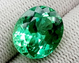 8.9 CT GREEN SPODUMENE TOP QUALITY GEMSTONES IGCGSPO16