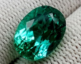 7 CT GREEN SPODUMENE TOP QUALITY GEMSTONES IGCGSPO38