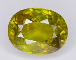 3.90 CT NATURAL GORGEOUS COLOR TITANITE SPHENE