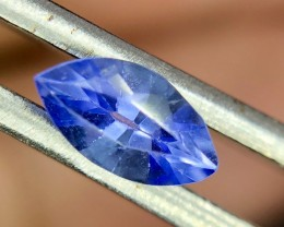 0.45 CT Natural Tanzanite  Beautiful Faceted Gemstone S12