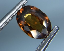 1.18 CT NATURAL BROWN ZIRCON HIGH QUALITY GEMSTONE S18