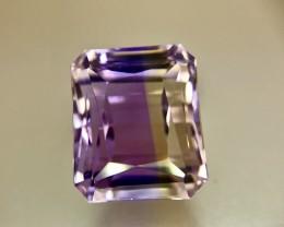 15.10 Crt Natural Ametrine AAA Quality Faceted Gemstone (R 133)