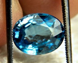5.80 Carat VVS1 Swiss Blue Southeast Asian Zircon - Gorgeous