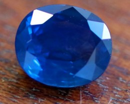 CERTIFIED  3.11 CTS NO HEAT BLUE SAPPHIRE -MADAGASCAR[STS964]