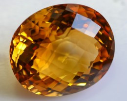 CERTIFIED 114.37 CTS LARGE CITRINE  [STS966] (11041803)