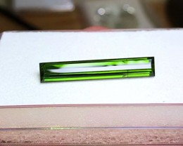 5.80 cts OLIVE GREEN TOURMALINE - AFGHAN