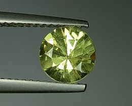 1.46 ct Top Luster Round Cut Natural chrysoberyl
