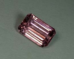 2.66 ct Stunning Octagon Cut Natural Tourmaline