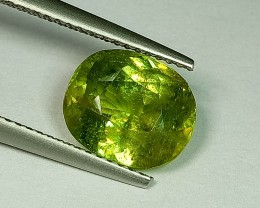4.03 ct Awesome Cushion Cut Natural Sphene