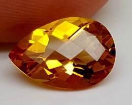 2.75Crt Madeira Citrine  Best Grade Gemstones JI 202
