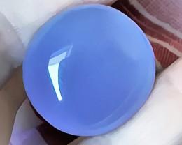 59.00CT LARGE MAUVE BLUE CHALCEDONY GEM WONDERFUL TRANSLUCENCE