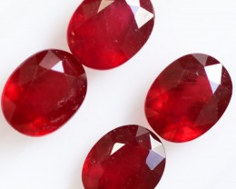 12.25 CTS BRIGHT AFRICAN SPECIAL RUBY PARCEL -  [STS1004]
