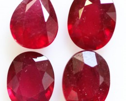 10.10 CTS BRIGHT AFRICAN SPECIAL RUBY PARCEL -  [STS1007]