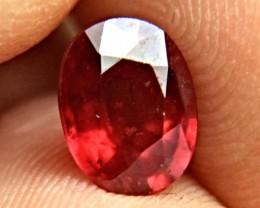 2.57 Carat Fiery Ruby - Gorgeous