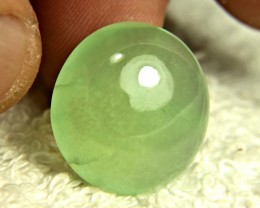 32.1 Carat Luna Green Prehnite Cabochon - Gorgeous