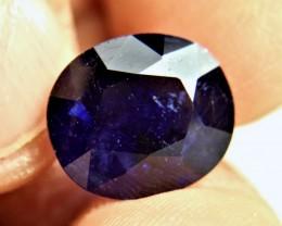 9.95 Carat Midnight Blue Sapphire - Gorgeous