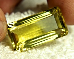41.76 Carat VVS1 African Lemon Quartz - Gorgeous