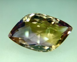 16.90 Crt Natural Top Quality Ametrine AAA Faceted Gemstone