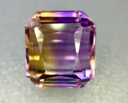 15.90 Crt Natural Top Quality Ametrine AAA Faceted Gemstone