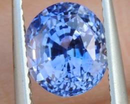 2.57cts,  Ceylon Blue Sapphire,  Cornflower Blue,  Heat Only,  Clean