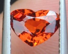 1.21cts Mandarin Spessartite,  Untreated Vivid Stone,  Clean