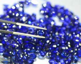 123.90 ct Natural Royal Blue Sapphire Lot
