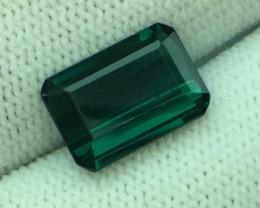 3.47 Ct Natural Indicolite Color Tourmaline Fine Quality Sk2