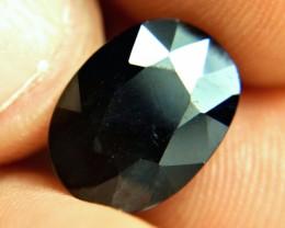 8.63 Carat Midnight Blue Sapphire - Gorgeous