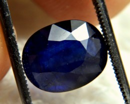 6.23 Carat Midnight Blue Sapphire - Gorgeous