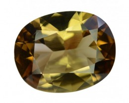 10.70 Crt Top Quality Rare Clean Axinite Gemstone ~ Pakistan
