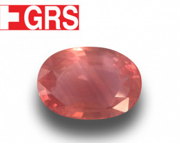 GRS Natural Padparadscha |Loose Gemstone| Sri Lanka - New