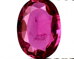 0.80CTS NATURAL CERTIFIED UNHEAT RUBY MOZAMBIQUE