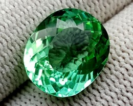 6.65 CT GREEN SPODUMENE TOP QUALITY GEMSTONES IGCGSPO41