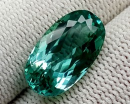 8.35 CT GREEN SPODUMENE TOP QUALITY GEMSTONES IGCGSPO43