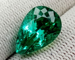 8.95 CT GREEN SPODUMENE TOP QUALITY GEMSTONES IGCGSPO57