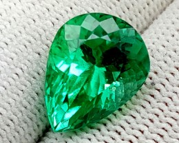 8.6 CT GREEN SPODUMENE TOP QUALITY GEMSTONES IGCGSPO61