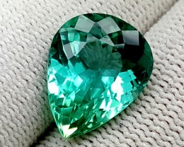 9.25 CT GREEN SPODUMENE TOP QUALITY GEMSTONES IGCGSPO63