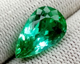 7.7 CT GREEN SPODUMENE TOP QUALITY GEMSTONES IGCGSPO64