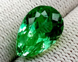 8.65 CT GREEN SPODUMENE TOP QUALITY GEMSTONES IGCGSPO65