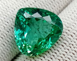 8.6 CT GREEN SPODUMENE TOP QUALITY GEMSTONES IGCGSPO69