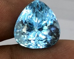 25cts Blue Topaz Beautiful color nice luster